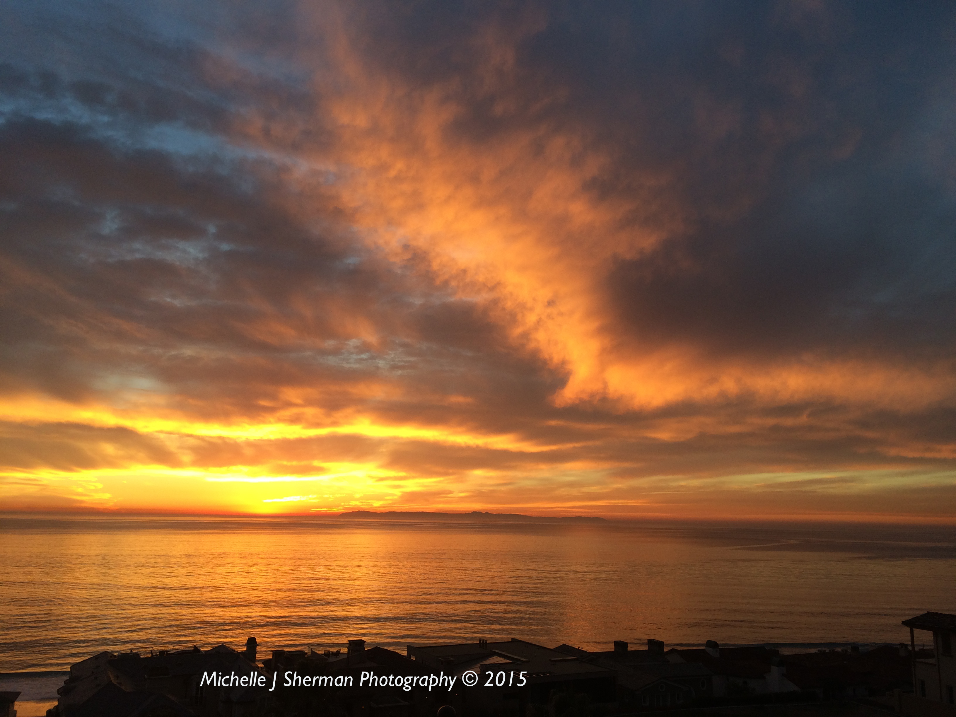 """Mich's Monday Mantra """" Enjoy The Pacific Sunset"""""""