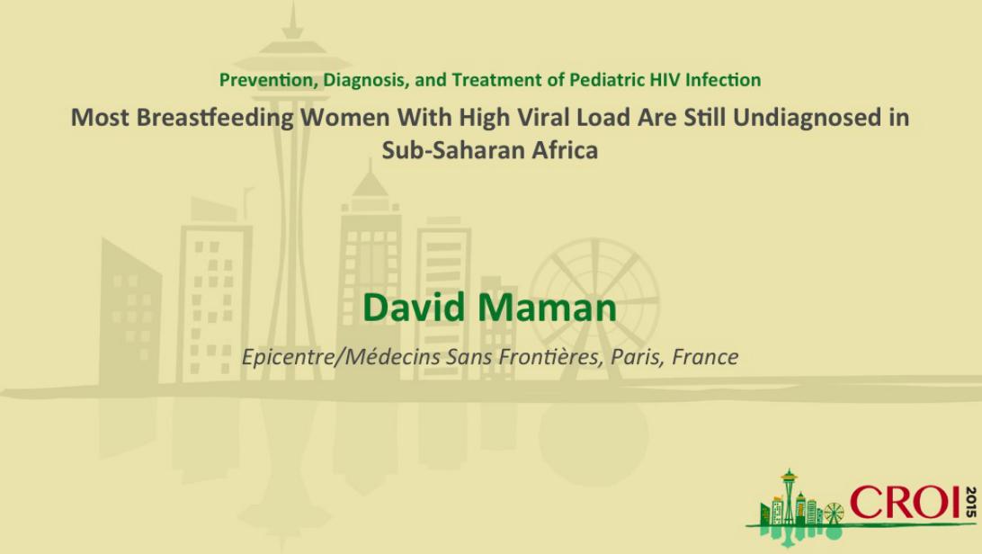Breastfeeding Mothers Often Undiagnosed in sub-Saharan Africa
