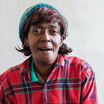 "Jones can now afford to take antiretroviral drugs to suppress her HIV viral load. ""You have to be a hustler for your own health,"" she said. (Heidi de Marco/KHN)"