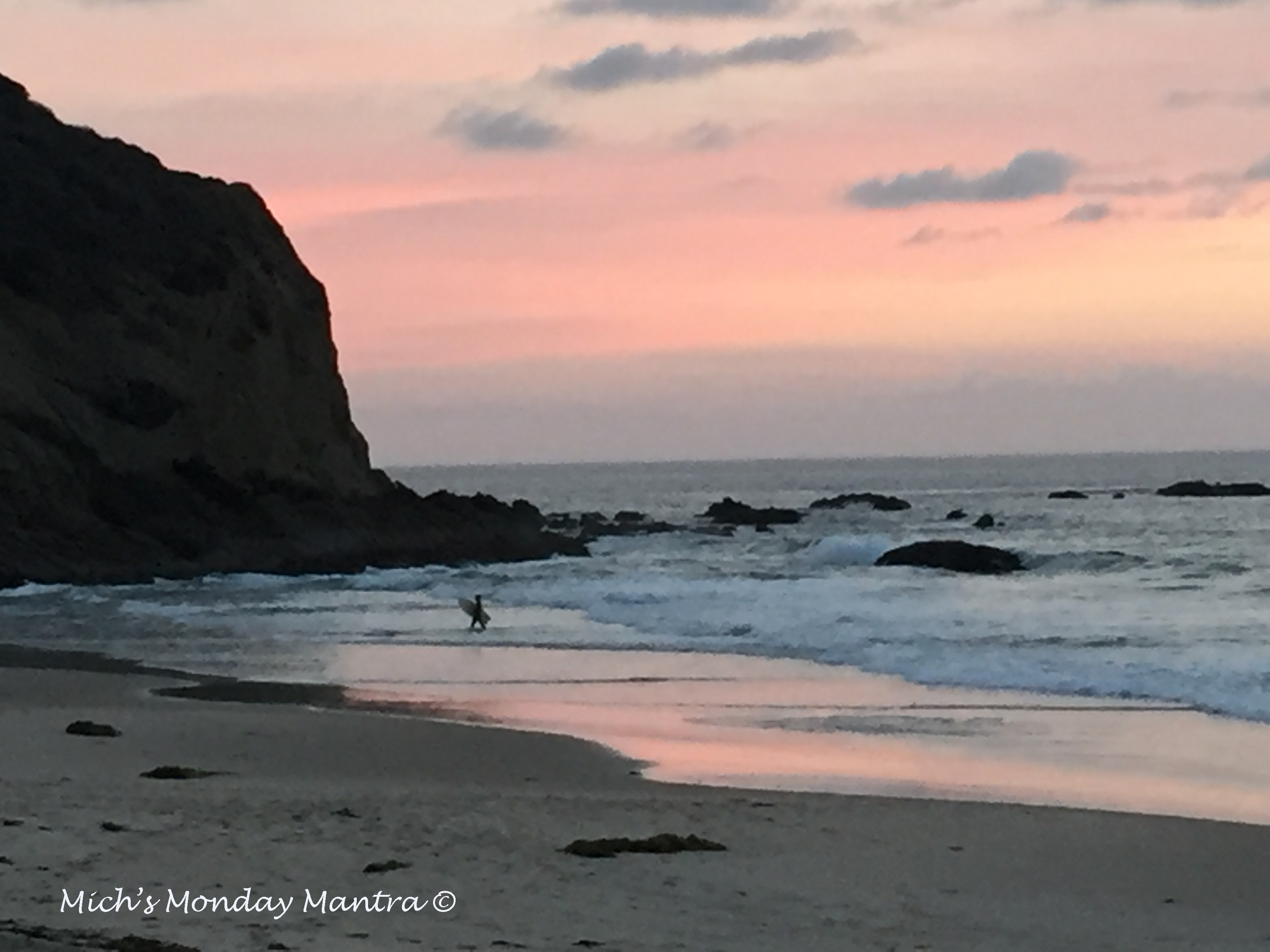 """""""End Your Day The Perfect Way"""" Mich's Monday Mantra"""