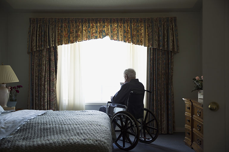 Like Hunger Or Thirst, Loneliness In Seniors Can Be Eased