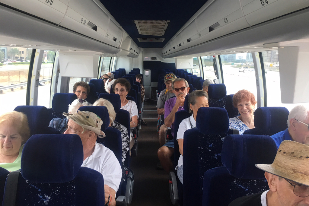 Day-Tripping To The Dispensary: Seniors In Pain Hop Aboard The Canna-Bus