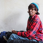 Loren Jones is HIV-positive and was homeless for years. She now lives in a government-subsidized studio apartment in downtown Berkeley. (Heidi de Marco/KHN)