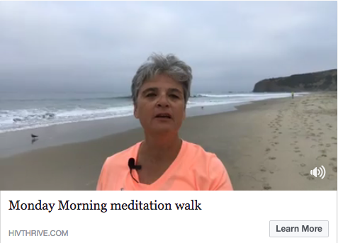 Monday Morning Meditation Walk- Facebook Live