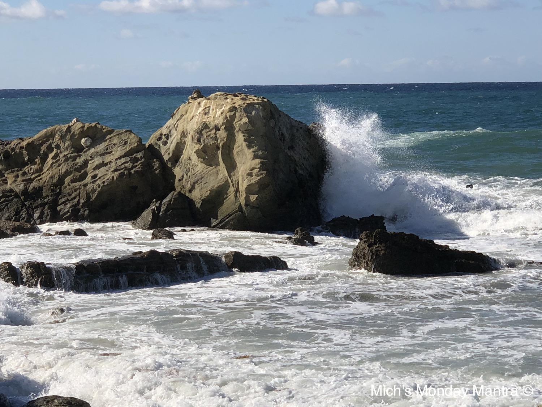 Feel The Power Of The Ocean